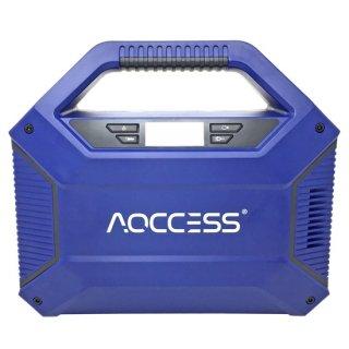 AQCCESS ポータブル電源 大容量42000mAh/155Wh ソーラーチャージ対応 AQ365SB スマホ充 電 充電器 緊急電源 キャンプ アウトドア 防災グッズ 非常用電源 PSE認証済