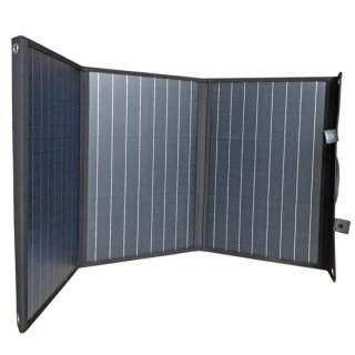 AQCCESS 折り畳み式 ソーラーパネル 90W 18V AQ90SL PET単結晶 USB出力 ソーラー充電 器 1年保証 スマホ充電 ソーラーチャージャー 非常用電源 携帯用 アクセス