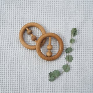 Little Light<br>natural wooden rattle (ring)