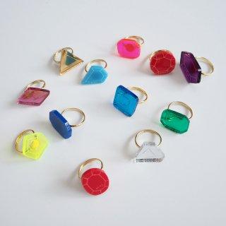 ATSUYO ET AKiKO<br>birth stone ring<br>12colors