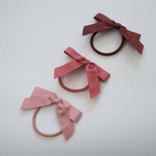 Konges Slojd<br>3pack hair elastics bow