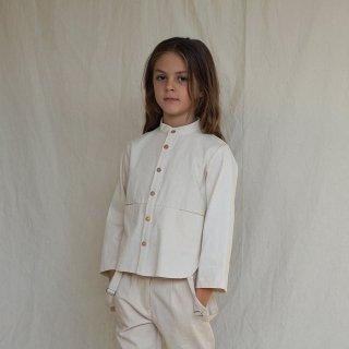 House of Paloma<br>emile shirt<br>natural ecru<br>(3y,4y,5y,6y)