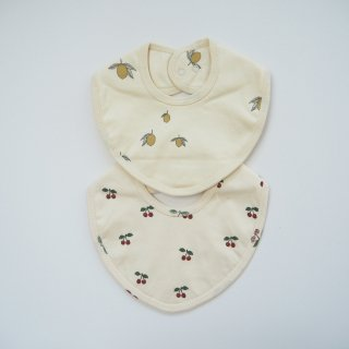 Konges Slojd<br>bibs<br>lemon / cherry