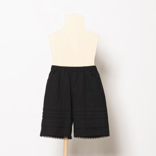 folkmade<br>tuck short pants<br>black<br>(S,M,L,LL)