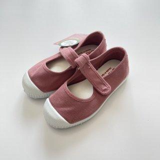 Cienta<br>velcro one strap shoes<br>rose/dyed<br>22(13cm)〜29(18cm)