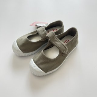 Cienta<br>velcro one strap shoes<br>cemento/dyed<br>22(13cm)〜29(18cm)