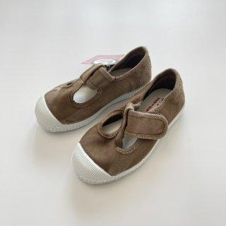 Cienta<br>velcro T-strap shoes<br>beige/ムラ染め<br>22(13cm)〜29(18cm)