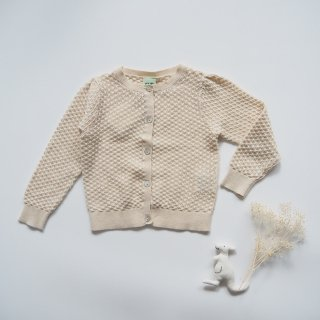 <img class='new_mark_img1' src='https://img.shop-pro.jp/img/new/icons14.gif' style='border:none;display:inline;margin:0px;padding:0px;width:auto;' />FUB<br>baby pointelle cardigan<br>ecru<br>(80,86,92)