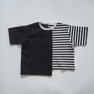 <img class='new_mark_img1' src='https://img.shop-pro.jp/img/new/icons14.gif' style='border:none;display:inline;margin:0px;padding:0px;width:auto;' />nunuforme<br>asymmetry T-shirt<br>whiteblack<br>(95,105,115,125)