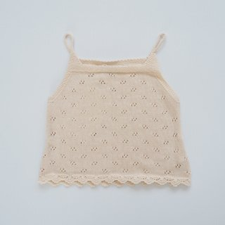 Bebe Organic<br>summer baby top<br>natural<br>(12m,18m,24m)
