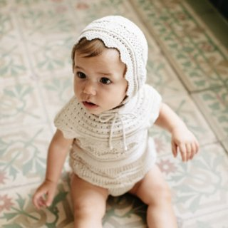 <img class='new_mark_img1' src='https://img.shop-pro.jp/img/new/icons14.gif' style='border:none;display:inline;margin:0px;padding:0px;width:auto;' />Bebe Organic<br>silvia romper<br>natural<br>(12m,18m)