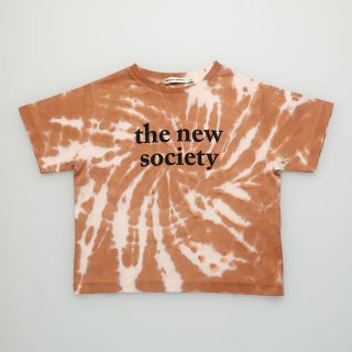 the new society<br>the new society tee<br>caramel<br>(4y,6y,8y)