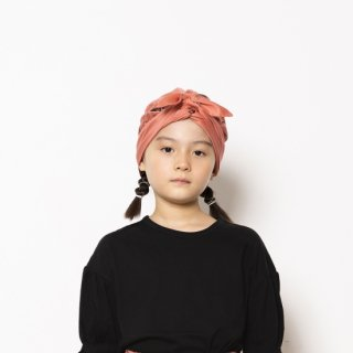 folkmade<br>face print turbun<br>beige / pink rose / green<br>(M)