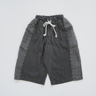 folkmade<br>peacedye lace pants<br>black<br>(S,M,L,LL)
