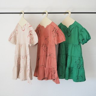 <img class='new_mark_img1' src='https://img.shop-pro.jp/img/new/icons14.gif' style='border:none;display:inline;margin:0px;padding:0px;width:auto;' />folkmade<br>face print dress<br>beige / pink rose / green<br>(S,M,L,LL)