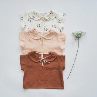 LiiLU<br>lara blouse<br>summer blossom / nude / toffee<br>(2y,4y,6y,8y)