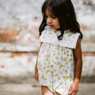 little cotton clothes<br>marjorie romper<br>buttercup floral<br>(12-18m,18-24m)