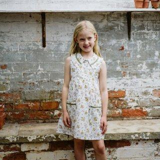 little cotton clothes<br>annie dress<br>tansy floral<br>(2-3y,3-4y,4-5y,5-6y,6-7y)