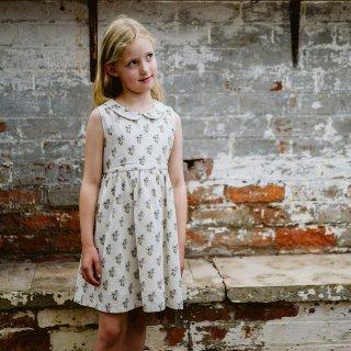 little cotton clothes<br>jemima dress<br>poppy floral<br>(2-3y,3-4y,4-5y,5-6y,6-7y)