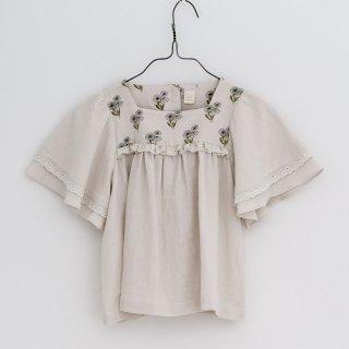 little cotton clothes<br>laura blouse<br>poppy floral<br>(18-24m,2-3y,3-4y,4-5y,5-6y,6-7y)