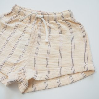 TINYCOTTONS<br>stripes short<br>light cream<br>(2y,3y,4y,6y)