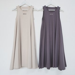 <img class='new_mark_img1' src='https://img.shop-pro.jp/img/new/icons14.gif' style='border:none;display:inline;margin:0px;padding:0px;width:auto;' />GRIS<br>no sleeve dress<br>sand / purple<br>(S,M,L)