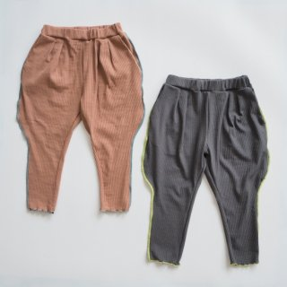 <img class='new_mark_img1' src='https://img.shop-pro.jp/img/new/icons14.gif' style='border:none;display:inline;margin:0px;padding:0px;width:auto;' />GRIS<br>rib joppers pants<br>coral / gray<br>(S,M,L)