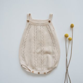 <img class='new_mark_img1' src='https://img.shop-pro.jp/img/new/icons14.gif' style='border:none;display:inline;margin:0px;padding:0px;width:auto;' />the new society<br>alice baby knit romper<br>natural<br>(12m,18m,2y)