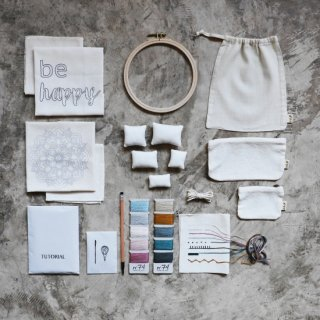 Numero74<br>embroidery kit stillness