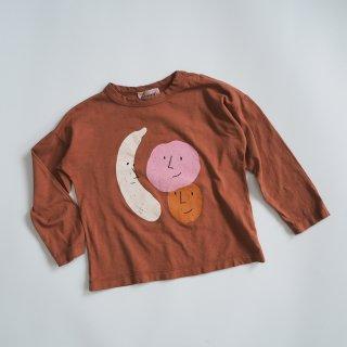 BOBO CHOSES<br>fruits long sleeve T-shirt<br>(12-18m,18-24m,24-36m)