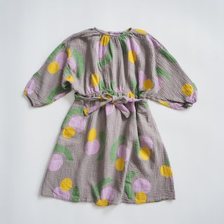 BOBO CHOSES<br>fruits all over woven dress<br>(4-5y,6-7y)