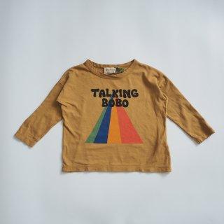 BOBO CHOSES<br>talking bobo rainbow long sleeve T-shirt<br>(2-3y,4-5y,6-7y)