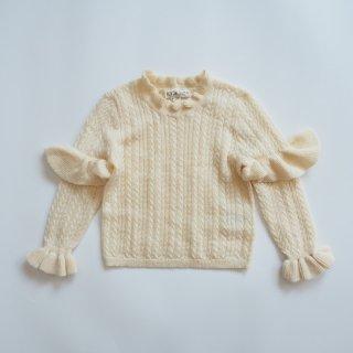 LOUISE MISHA<br>jevo jumper<br>cream<br>(24m,3y,4y,5y,6y)