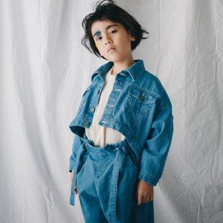 nunuforme<br>short jean jacket<br>bleach<br>(M,L,XL)