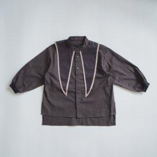 nunuforme<br>sailor blouse<br>charcoal<br>(105,115,125,135,145)