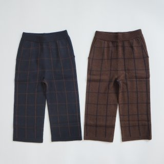 <img class='new_mark_img1' src='https://img.shop-pro.jp/img/new/icons14.gif' style='border:none;display:inline;margin:0px;padding:0px;width:auto;' />FUB<br>felted pants<br>dark navy / walnut<br>(100,110,120)