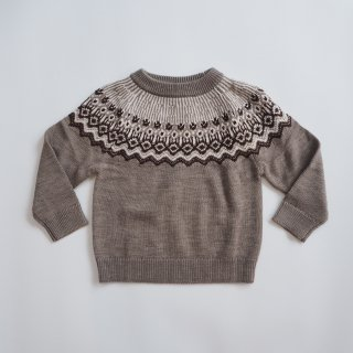 <img class='new_mark_img1' src='https://img.shop-pro.jp/img/new/icons14.gif' style='border:none;display:inline;margin:0px;padding:0px;width:auto;' />FUB<br>fair isle sweater<br>beige melange<br>(100,110,120)