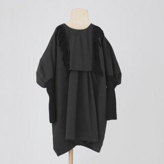 folkmade<br>fringe dress<br>black<br>(S,M,L,LL)