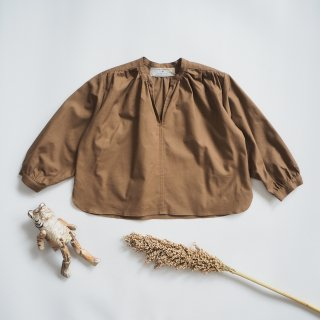 AU CLAIR DE LA LUNE<br>smock shirt<br>nuts<br>(100,110,120)
