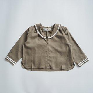 AU CLAIR DE LA LUNE<br>sailor shirt<br>beige<br>(90,100,110,120)