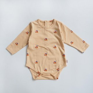 TINYCOTTONS<br>dogs body<br>cappuccino<br>(9m,12m,18m)