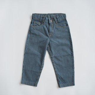 TINYCOTTONS<br>stripes denim baggy pant<br>stripes denim<br>(3y,4y,6y,8y)