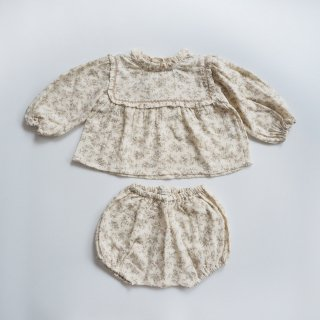 <img class='new_mark_img1' src='https://img.shop-pro.jp/img/new/icons14.gif' style='border:none;display:inline;margin:0px;padding:0px;width:auto;' />Bebe Organic<br>gabriella set<br>natural flowers<br>(12m,18m,24m)