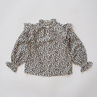 the new society<br>gannin blouse<br>leopard<br>(3y,4y,6y)