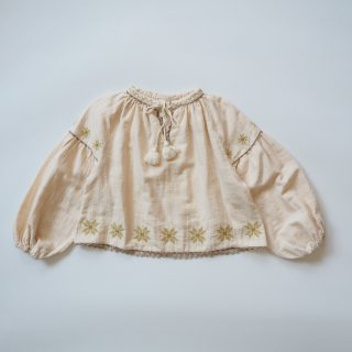LiiLU<br>folk blouse<br>ecru folk<br>(2y,4y,6y,8y)