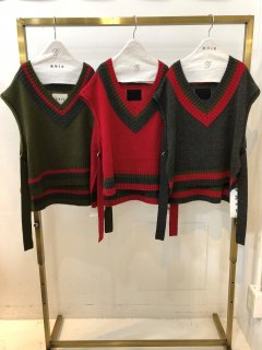 <img class='new_mark_img1' src='https://img.shop-pro.jp/img/new/icons14.gif' style='border:none;display:inline;margin:0px;padding:0px;width:auto;' />GRIS<br>v-neck short vest<br>grizzly<br>(S,M,L)