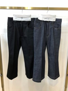 <img class='new_mark_img1' src='https://img.shop-pro.jp/img/new/icons14.gif' style='border:none;display:inline;margin:0px;padding:0px;width:auto;' />GRIS<br>flared denim<br>indigo<br>(S,M,L)