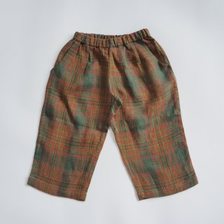 <img class='new_mark_img1' src='https://img.shop-pro.jp/img/new/icons14.gif' style='border:none;display:inline;margin:0px;padding:0px;width:auto;' />Nellie Quats<br>chess trousers<br>redwood tartan<br>(18-24m,3-4y,5-6y,7-8y)