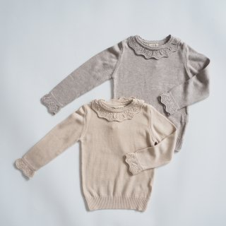 <img class='new_mark_img1' src='https://img.shop-pro.jp/img/new/icons14.gif' style='border:none;display:inline;margin:0px;padding:0px;width:auto;' />minimom<br>scilla knit sweater<br>cream / beige<br>(1-2y,3-4y,5-6y,7-8y)