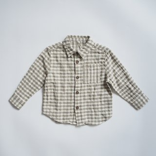 <img class='new_mark_img1' src='https://img.shop-pro.jp/img/new/icons14.gif' style='border:none;display:inline;margin:0px;padding:0px;width:auto;' />Rylee + Cru<br>collared shirt<br>gingham olive<br>(2-3y,4-5y,6-7y)